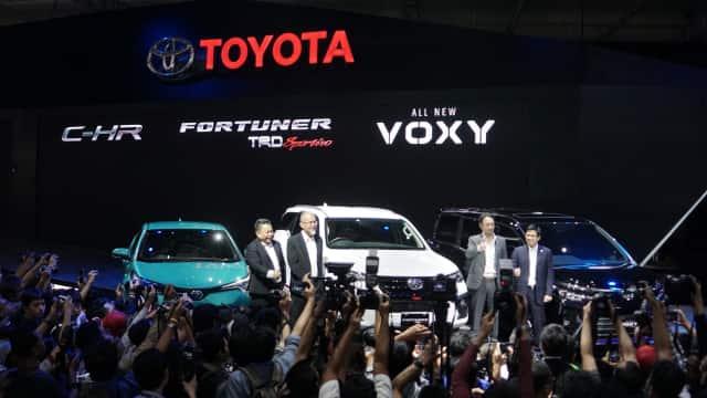 Toyota Catatkan 7.136 Unit Penjualan di GIIAS 2017