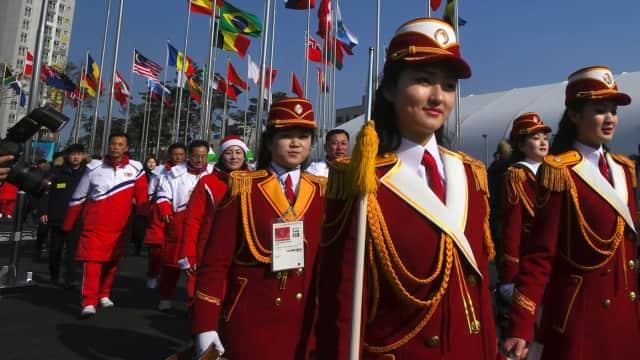 Rahasia Gelap Pemandu Sorak Korea Utara