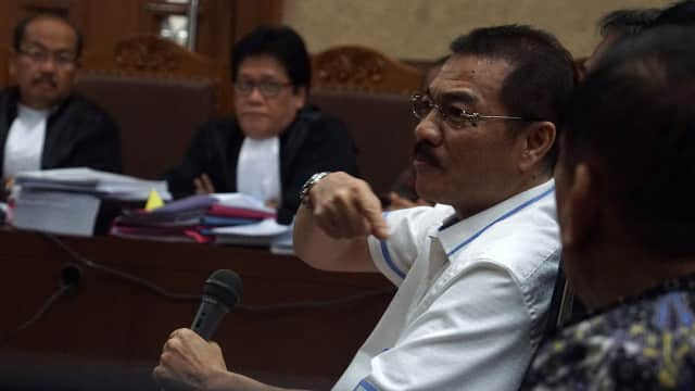 Gamawan Fauzi Diduga Pernah Bertemu Johannes Marliem di Padang