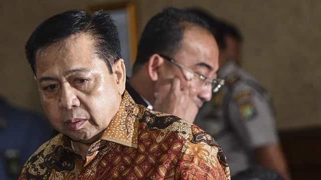 Setnov Cicil Uang Pengganti Korupsi e-KTP USD 7,3 Juta