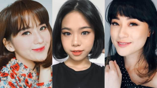 Intip 5 Beauty Blogger Indonesia yang Tampil dengan Makeup Ala Korea