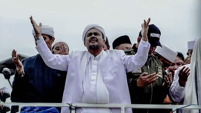Kubu Prabowo Jamin Kepulangan Rizieq, Kubu Jokowi Akan Tegakkan Hukum