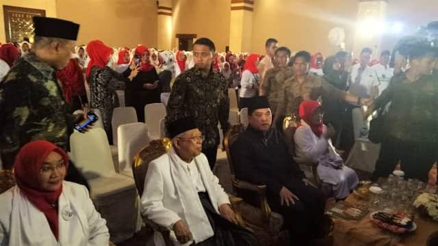 Ma'ruf dan Erick Thohir Hadiri Deklarasi Dukungan Arus Bawah Muslimah
