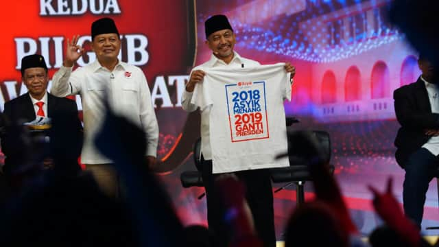 LSI Denny JA: #2019GantiPresiden Makin Populer dan Disukai