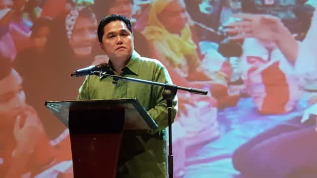 Erick Thohir: Jokowi Telah Buktikan Kerja Nyata