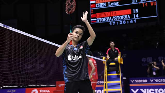 Anthony Ginting Juara China Terbuka 2018