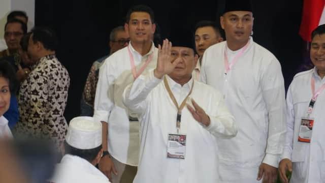 Prabowo - Sandi soal Nomor Urut 2: Lambang Kemenangan