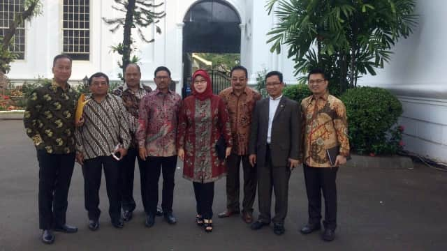 Jokowi Kumpulkan Parpol Koalisi di Istana, Tanpa PAN