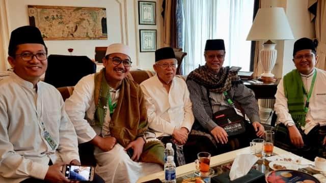 Kiai Ma'ruf Amin dan Lawan Diskusi