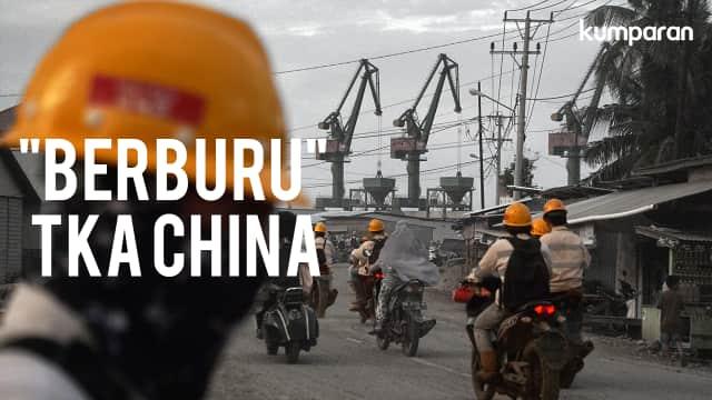Menelusuri Keberadaan TKA China di Morowali