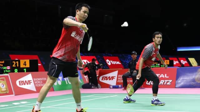 Ahsan/Hendra Kalah, Indonesia Disingkirkan China di Piala Thomas