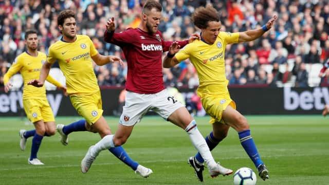 West Ham Putus Rentetan Kemenangan Beruntun Chelsea