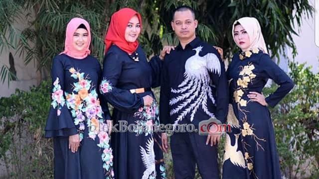 Dulu Flanel, Sekarang Zahida Fokus Batik Painting