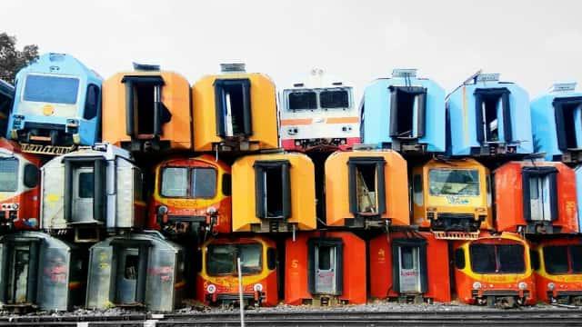 KAI Mau Jual Ratusan Gerbong Kereta Bekas, Berminat?