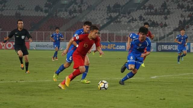 Mengamuk di Babak Kedua, Timnas U-19 Hajar Taiwan