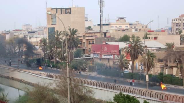 3 Tembakan Roket Hantam Bandara Basra di Irak