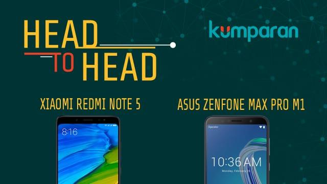 Xiaomi Redmi Note 5 vs Asus Zenfone Max Pro M1, Mana Lebih Unggul?