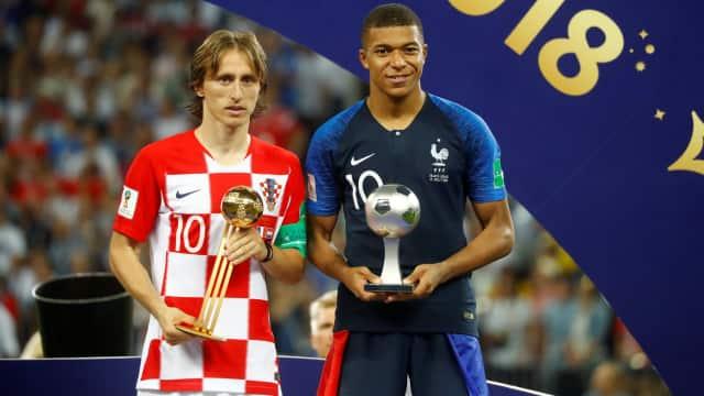 Tim Terbaik Piala Dunia 2018 versi kumparan