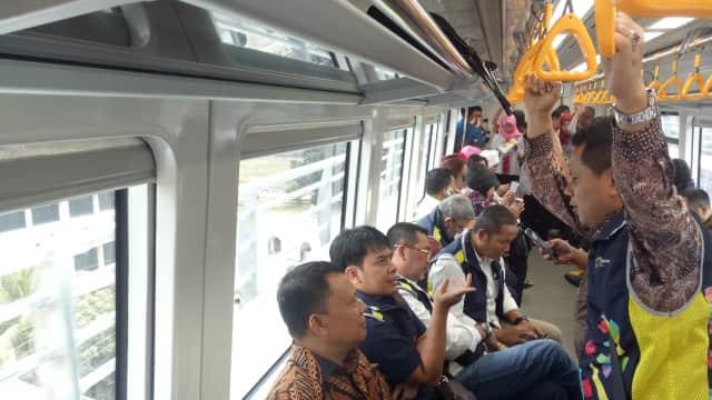 Jangan Lagi Mogok, LRT Sangat Dibutuhkan Masyarakat Palembang