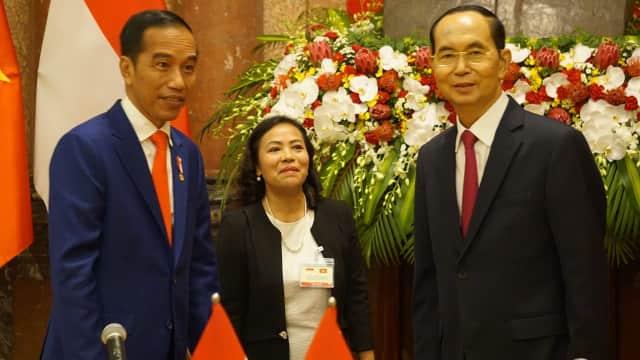 Jokowi Sampaikan Belasungkawa Atas Wafatnya Presiden Vietnam