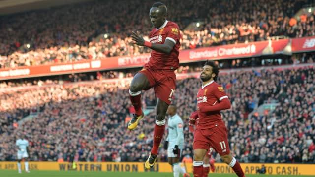 Hajar West Ham 4-1, Liverpool Naik ke Posisi Dua