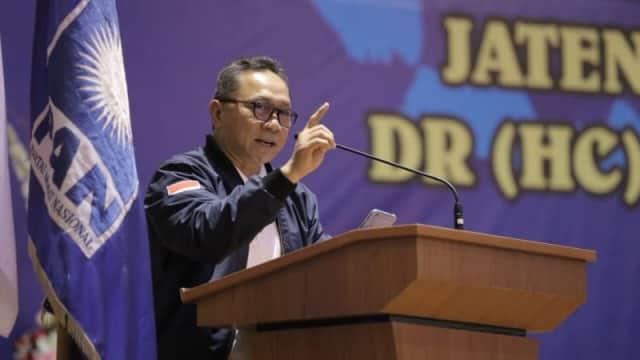 Zulkifli Hasan Akan Pecat Ketua DPD PAN di Sumbar yang Dukung Jokowi