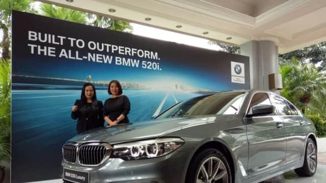 BMW 520i Luxury Line: Rakitan Sunter dengan Fitur Melimpah