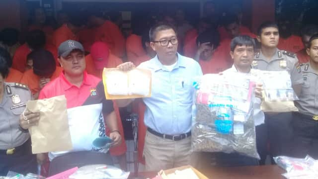 Selama 6 Bulan, Polda Bali Tangkap 672 Tersangka Narkoba