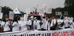 Aksi Dokter Muda Indonesia