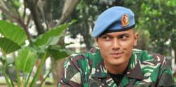 Pratu Daniel Darryan, Pengawal Jokowi yang 'Setia Waspada'