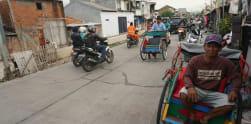 Becak Akan Kembali Mewarnai Permukiman di Ibu Kota