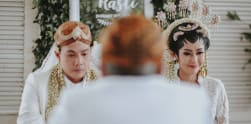 Pernikahan Ardina Rasti dan Arie Dwi