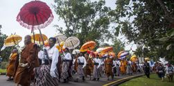 Rangkaian Perayaan Waisak di Candi Borobudur