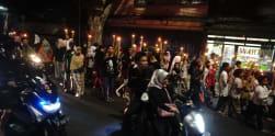 Pawai Obor di Tebet Meriahkan Suasana Malam Takbiran di Jakarta
