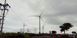 Kincir Angin Raksasa Pertama RI di Sidrap Ini Siap Hasilkan Listrik