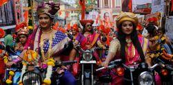 Suka Cita Warga Hindu Rayakan Festival Gudhi Padva di India