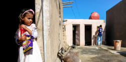 Haura, Gadis Cilik Irak Derita Sakit Kulit 'Langka'