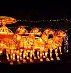 Kerlap-kerlip Lampion Cantik di Ancol Lantern Festival