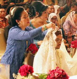 Jokowi hingga SBY di Resepsi Pernikahan Cucu Soeharto