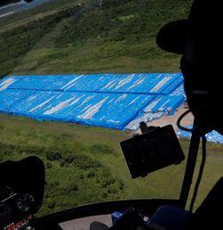 Puluhan Ribu Botol Air Terlantar di Ceiba, Puerto Rico