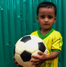 Sisa Demam Piala Dunia di Pengungsian Rohingya