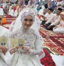 Suasana Pernikahan Tommy Kurniawan di Aceh