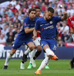 Gol Tunggal Eden Hazard Bawa Chelsea Juarai Piala FA