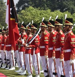 Kunjungan Presiden Timor Leste di Istana Bogor