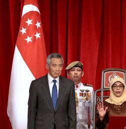 Melihat Pelantikan Halimah Yacob di Istana Presiden Singapura