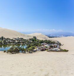 Eksotisme Huacachina, Oasis Tercantik di Amerika Selatan