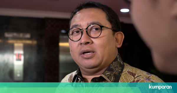 Fadli Zon: Harus Ganti Presiden, Kalau Enggak Kita Kacau ...