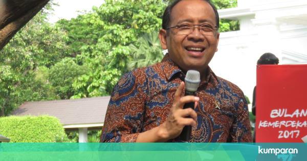 Mensesneg Sebut Cawapres Jokowi Didiskusikan Di Internal Istana Kumparan