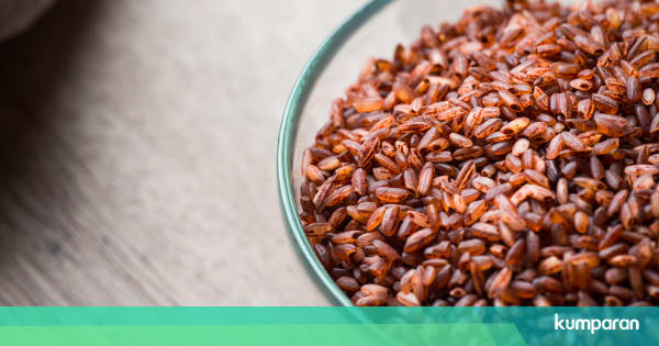 35 Manfaat dan Khasiat Nasi Merah untuk Kesehatan, Kecantikan Serta Efek Samping