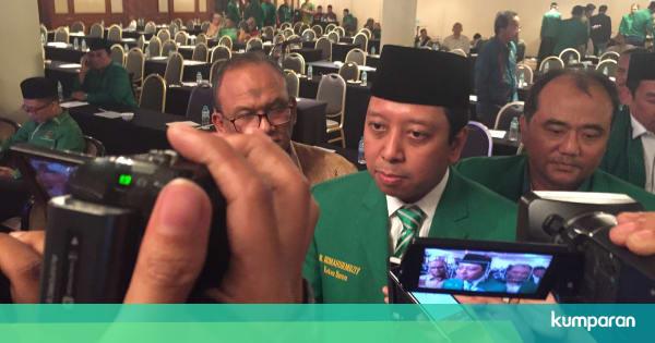 Romy Ppp Tersangka Picture: Romy Tak Khawatir Survei Sebut PPP Tidak Lolos Ambang